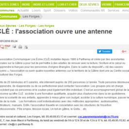 CLÉ : l'association ouvre une antenne