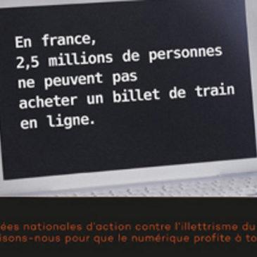 Illettrisme : journées nationales relayées par Clé