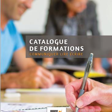 Le catalogue des formations est en ligne