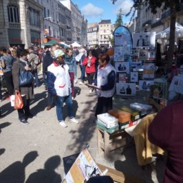 Des saynètes dans les rues de Niort