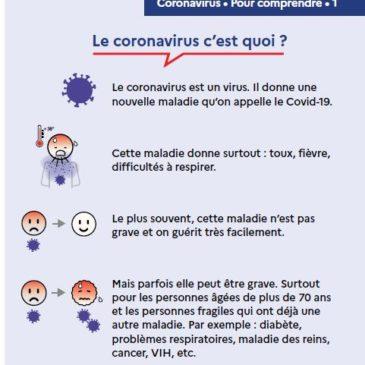 Coronavirus, comprendre, agir