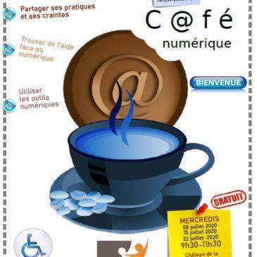 Café numérique à Mazières
