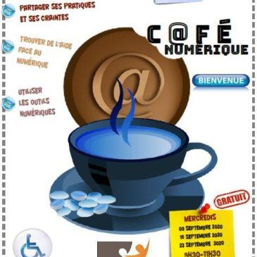 Café numérique en septembre à Parthenay