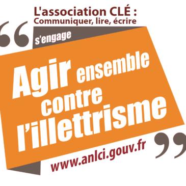 CLÉ participe aux Journées Nationales d'Action contre l'Illettrisme