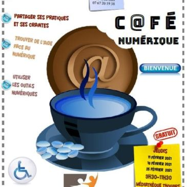 Café numérique à Thouars