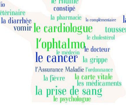 Les mots de la santé