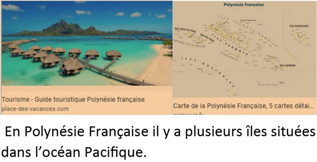 Les îles françaises vues par Eric
